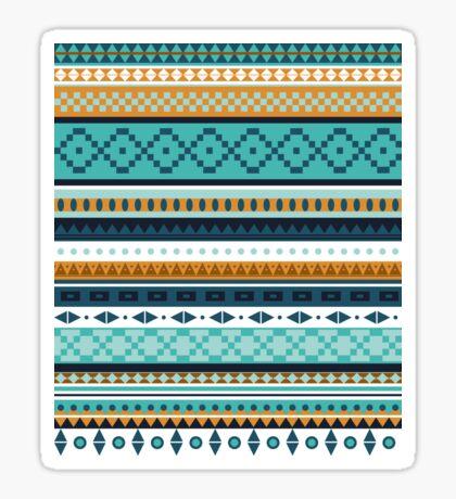 Blue Ethno Sticker