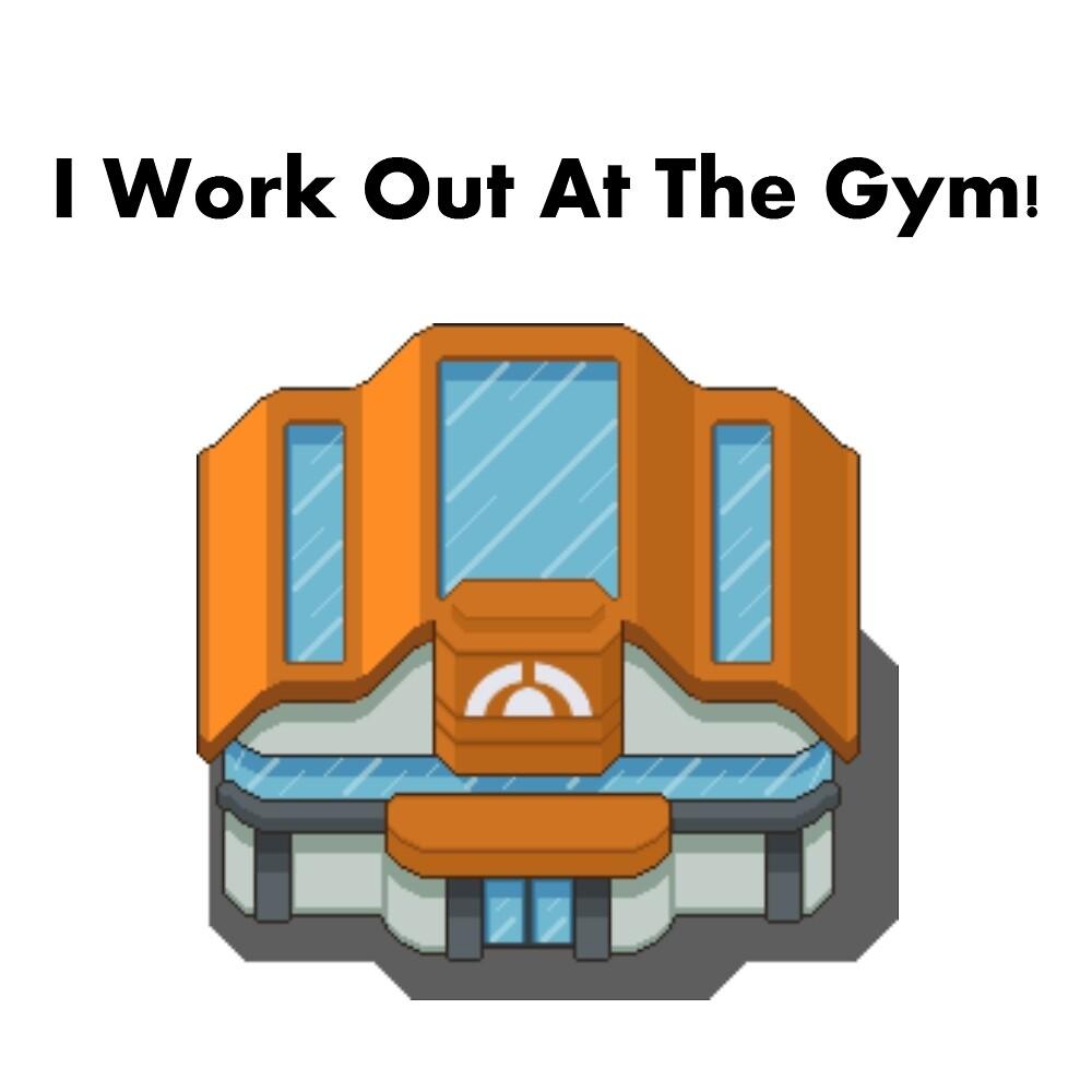 Pokemon Gym by Ninjakitas