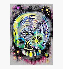 aerosol skull Photographic Print