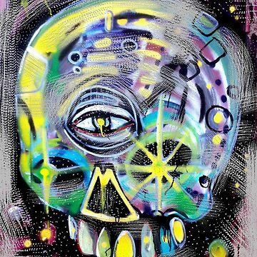 aerosol skull by brianbarnardart