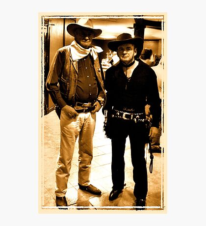 """Buckaroo Look-A-Likes""... prints and products Photographic Print"