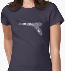 Nintendo NES Zapper - X-Ray Women's Fitted T-Shirt