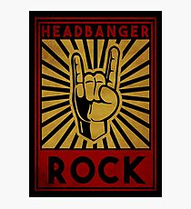 Headbanger  Photographic Print