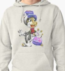 Charcoal and Oil - Jiminy Cricket Pullover Hoodie
