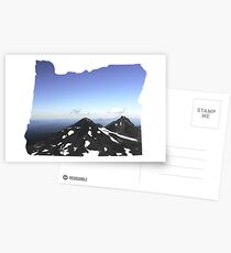 OR- South Sister Summit Postcards