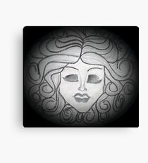 Madame Leota (Haunted Mansion Drawing) Canvas Print