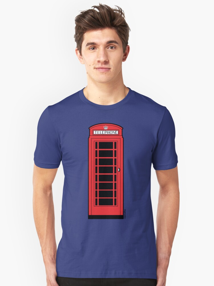 British Red Phone Box by Fotopia