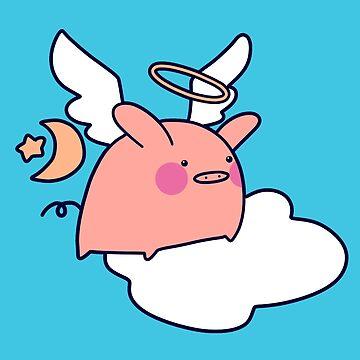 Angel Pig by SaradaBoru