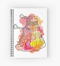 Dalek Watercolour Spiral Notebook