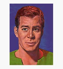 William Shatner is Captain James T. Kirk Photographic Print