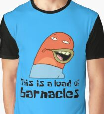 This Is A Load Of Barnacles - Spongebob Graphic T-Shirt