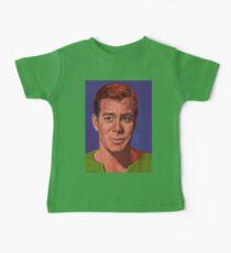 William Shatner is Captain James T. Kirk Baby Tee