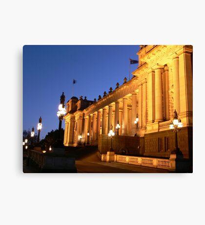 Parliament House, Melbourne Canvas Print
