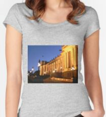 Parliament House, Melbourne Women's Fitted Scoop T-Shirt