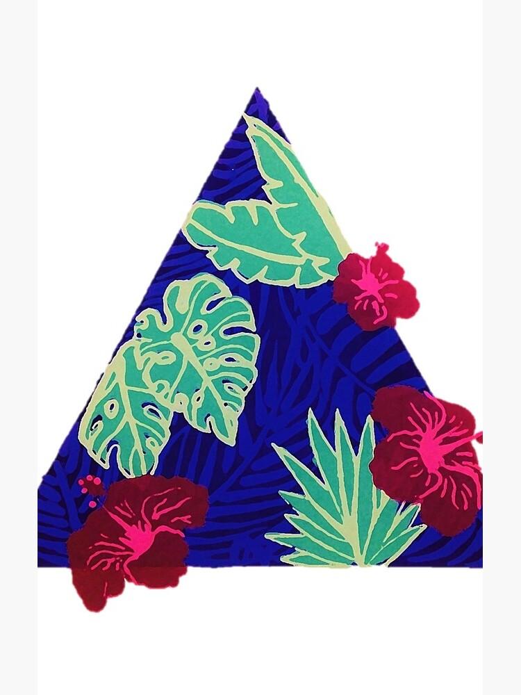 Tropisches Dreieck 2.0 von SaraLoone