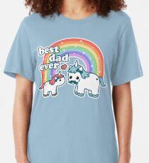 Best Unicorn Dad Slim Fit T-Shirt