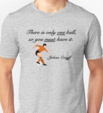 Johan Cruyff Quote Unisex T-Shirt
