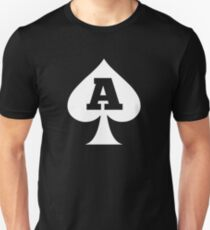 Asexual Ace Of Spades A for Asexual Asexualise Design Unisex T-Shirt