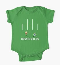 Aussie Rules Pixel Kids Clothes