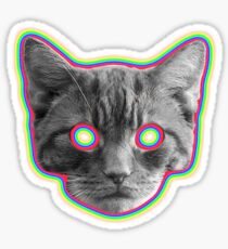 ACID CAT Sticker