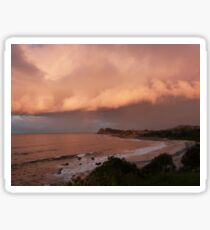The Sunset Reflection! from Second Head, Forster. N.S.W.  Sticker