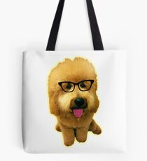 Precious Goldendoodle puppy! Tote Bag