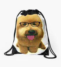 Precious Goldendoodle puppy! Drawstring Bag