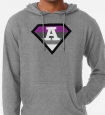 Asexual Pride Asexual Ace Of Spades A Is For Asexual Design Lightweight Hoodie