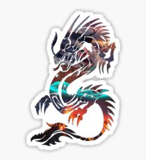 Dragon Picture Fill Sticker
