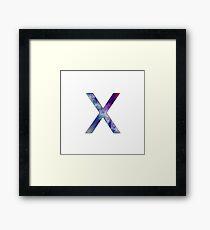 Troye Sivan X Framed Print