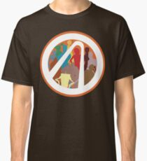 Borderlands Character Design Classic T-Shirt