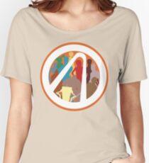 Borderlands Character Design Women's Relaxed Fit T-Shirt