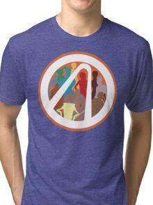 Borderlands Character Design Tri-blend T-Shirt