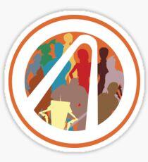 Borderlands Character Design Sticker
