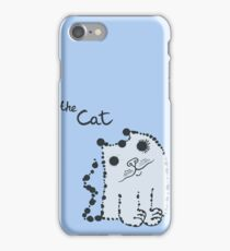 Funny cute ink splashes cats. iPhone Case/Skin