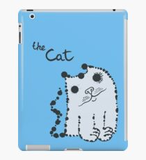 Funny cute ink splashes cats. iPad Case/Skin