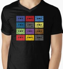 Something About My Cassettes Mens V-Neck T-Shirt