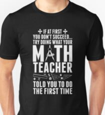 Math Teacher Unisex T-Shirt