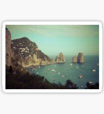 Amalphi coast, Capri, Italy 4 Sticker