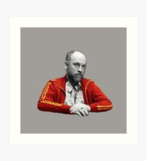 Teddy KGB Art Print