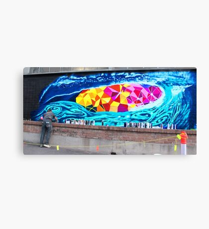 Great Graffitti Canvas Print