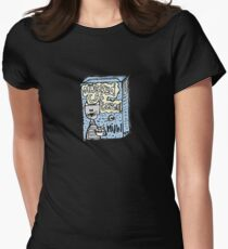 cat cereals Women's Fitted T-Shirt