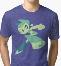 Jenny - My Life As A Teenage Robot Tri-blend T-Shirt