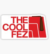 The Cool Fez Sticker