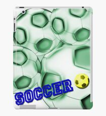 Soccer de brazil iPad Case/Skin