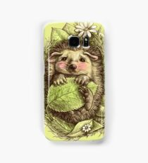 Little hedgehog colored Samsung Galaxy Case/Skin