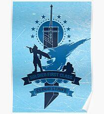 Final Fantasy 7 Cloud Strife Poster
