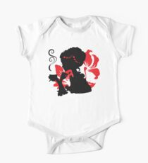 Silhouette of a Young female holding hot coffee One Piece - Short Sleeve