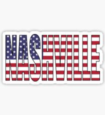 Nashville. Sticker
