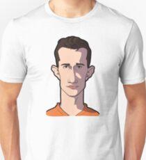 Van Persie caricature Unisex T-Shirt